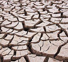 cracked earth by bobjaret