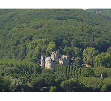Chateau Milandes Photographic Print