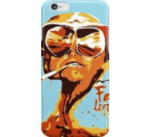 Fear and Loathing in Las Vegas Painting iPhone Case/Skin