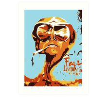 Fear and Loathing in Las Vegas Painting Art Print