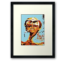 Fear and Loathing in Las Vegas Painting Framed Print