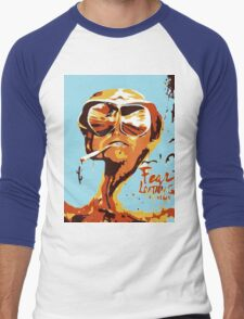 Fear and Loathing in Las Vegas Painting Men's Baseball ¾ T-Shirt