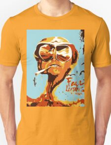 Fear and Loathing in Las Vegas Painting Unisex T-Shirt