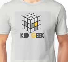 Kid Geek Cube Logo Unisex T-Shirt