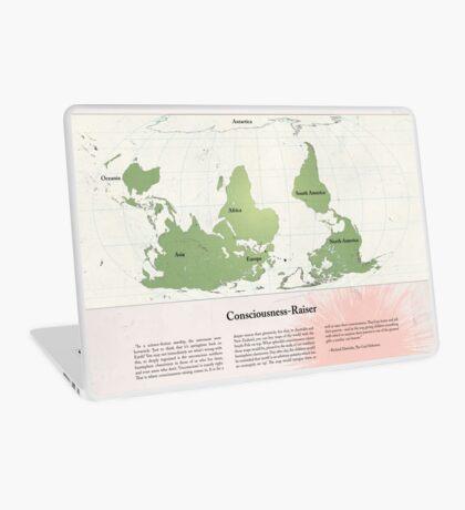 Consciousness-Raiser | South-Up Cartography  Laptop Skin