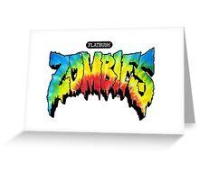 FlatBush Zombies Tie Dy Greeting Card