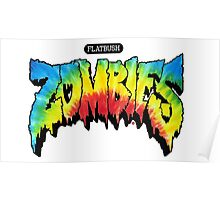 FlatBush Zombies Tie Dy Poster