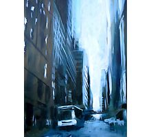 Midtown New York Abstract Realism Photographic Print