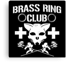 Brass Ring Club T-shirt Canvas Print