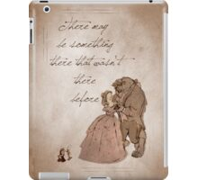 Beauty and the Beast inspired valentine. iPad Case/Skin