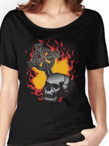Burn 'em at the Cross Women's Relaxed Fit T-Shirt