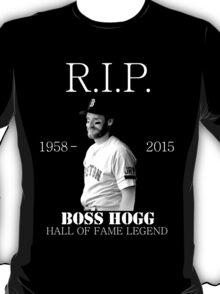 RIP Boss Hogg shirt T-Shirt