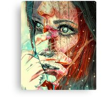 For a minute there I lost myself Canvas Print