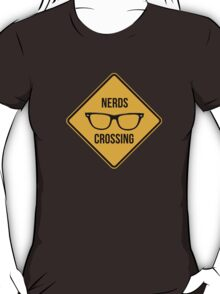 Nerds crossing!!! T-Shirt