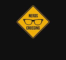 Nerd crossing Womens Fitted T-Shirt
