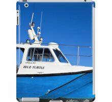 Blue Turtle ~ Lyme Regis iPad Case/Skin