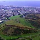 Arthur&#x27;s Seat and Salisbury Crags by Tom Gomez