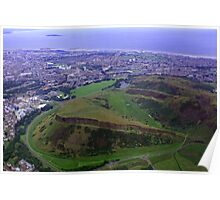 Arthur's Seat and Salisbury Crags Poster