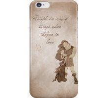 Hercules inspired valentine. iPhone Case/Skin