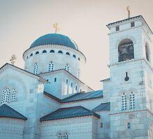 A church in Podgorica, Montenegro  by KlaraMarx