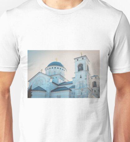 A church in Podgorica, Montenegro  Unisex T-Shirt