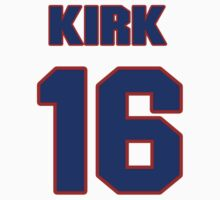 National Hockey player Kirk Bowman jersey 16 by imsport
