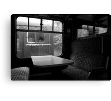 Empty Carriages Canvas Print