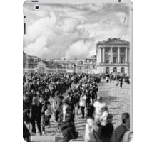 Palace of Versailles on a crowded day iPad Case/Skin