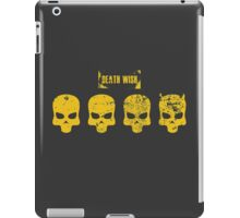 Payday 2 Skulls - Death Wish iPad Case/Skin