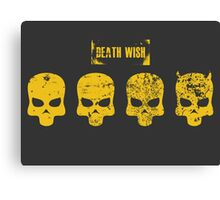 Payday 2 Skulls - Death Wish Canvas Print
