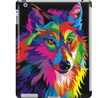 Colorful Wolf iPad Case/Skin