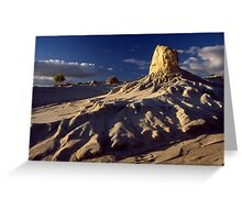 Eroded Dune Greeting Card