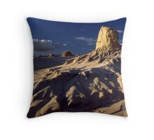 Eroded Dune Throw Pillow