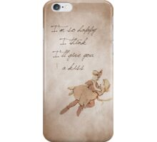 Peter Pan inspired valentine. iPhone Case/Skin