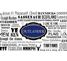 Outlander Mug (Blue) by patee333