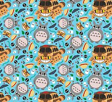 Totoro pattern.02 by SaMtRoNiKa