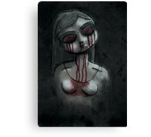 Dead Girl Canvas Print