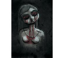 Dead Girl Photographic Print