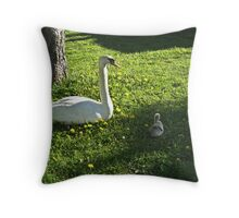 Mother's Protection Throw Pillow