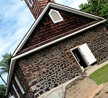Keawala'i church - Maui by DJ Florek