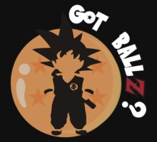 sayian - Goku - got ballz white by kennypepermans