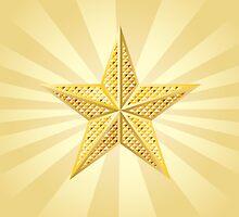 Golden star by AnnArtshock