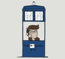 Doctor Who in Peanuts  T-Shirt