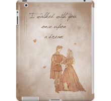 Sleeping Beauty inspired valentine. iPad Case/Skin