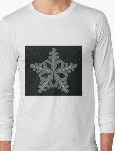 Ornament Snowflake Long Sleeve T-Shirt