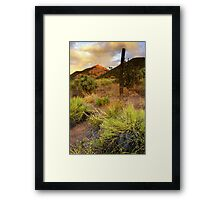Yet Another Colorful Sky Framed Print