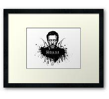 Dr House Framed Print