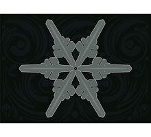 Ornament Snowflake 2 Photographic Print