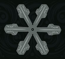 Ornament Snowflake 3 by AnnArtshock