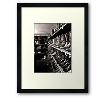 Selected Boots Framed Print